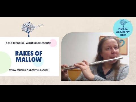 The Rakes of Mallow - ABRSM Grade 1 Flute Exam Piece B3