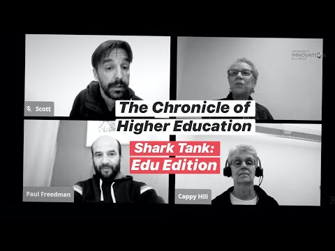 SharkTank: EDU Edition from the Chronicle of Higher Educatio