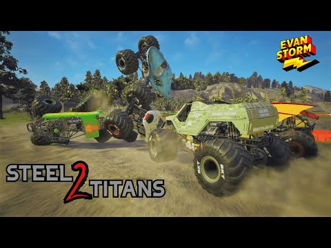 Monster Jam Steel Titans Soldier of Fortune Unlocks a New Trucks |