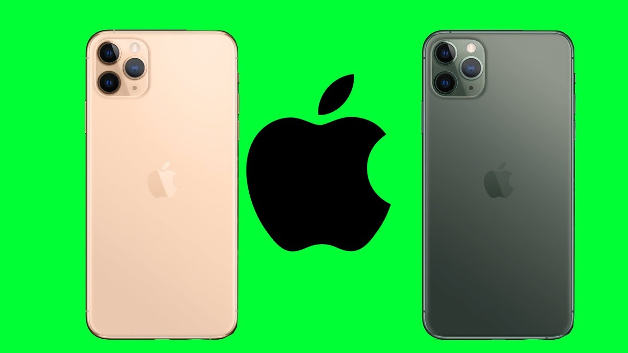 iPhone 11 Pro Max Colors Animation , GreenScreen