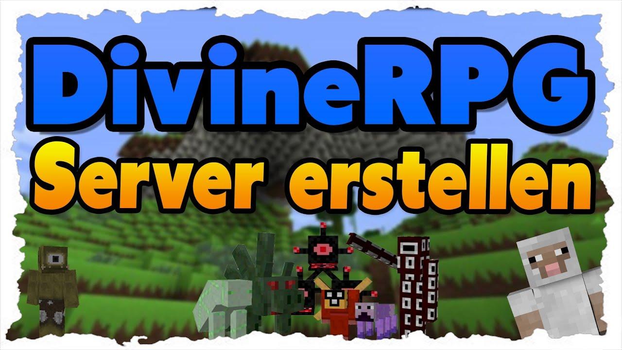 DivineRPG Server Erstellen Tutorial DivineRPG Im Multiplayer YouTube - Minecraft rpg server erstellen