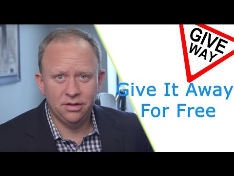 Give It Away For Free