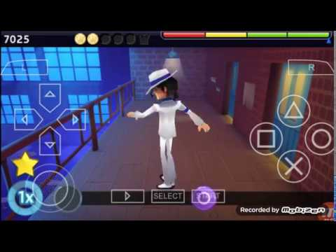 Michael Jackson The Experience PSP (Smooth Criminal) Gameplay