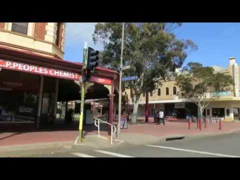 Broken Hill Argent Street 'Drive by'  both directions - June 2015