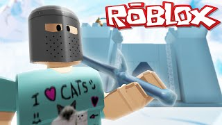 Roblox Adventures / Ice Castle Tycoon / Building My Ice Kingdom!