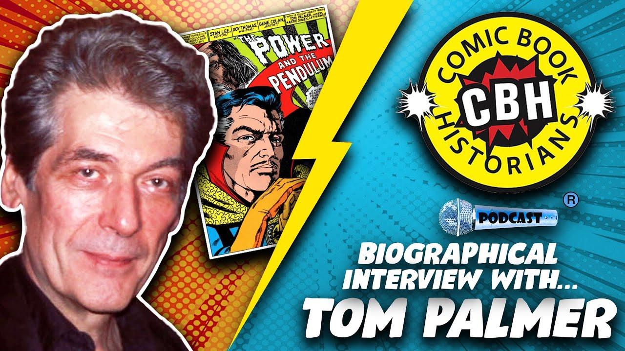 Download Tom Palmer, Inker & Illustrator Interview by Alex Grand & Jim Thompson