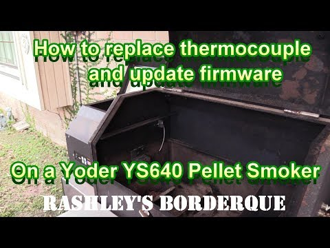 Yoder YS640 How to Replace Thermocouple and Update Firmware - Wildcard Wednesday