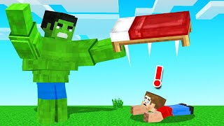 Hide And Seek With THE HULK! (Minecraft)