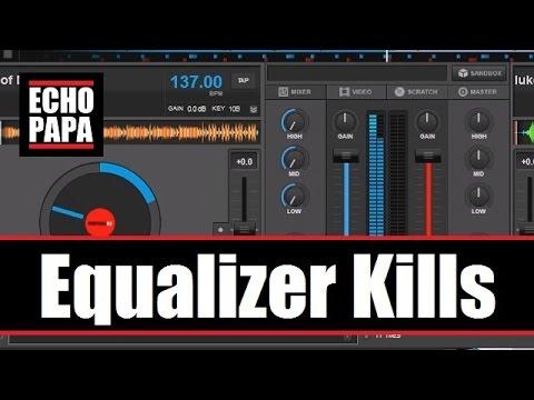 Virtual DJ 8: Equalizer Kills