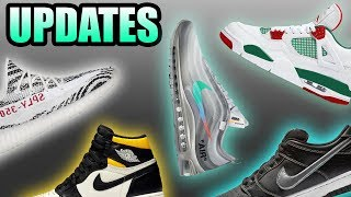 Off White AIR MAX 97 MENTA Potential Drop | Yeezy 350 V2 ZEBRA DELAYED | Sneaker Updates 12