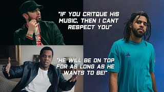 Rappers Talking About J Cole (Eminem, Jay-Z, Joey Bada$$, Young Thug, DaBaby & more)