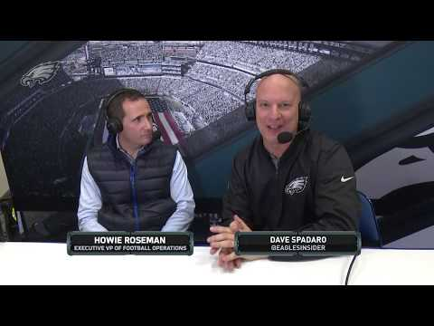 Eagles One-On-One: Executive VP Of Football Operations Howie Roseman