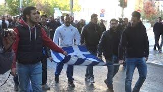 Студенты проводят митинг посвященный 17 ноября
