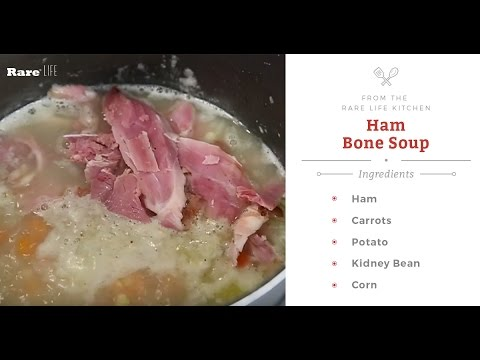 Leftover Ham Bone Soup With Elissa The Mom | Rare Life