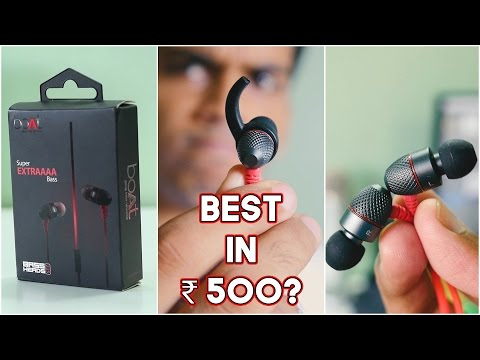 "boAt BassHeads 225 ""Super"" Extra Bass Earphones Review! Super? Really?"