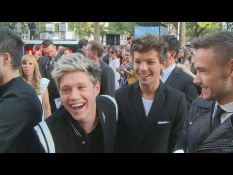 ONE DIRECTION WORLD PREMIERE: Niall Horan,...