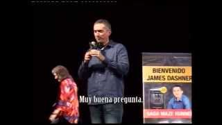 James Dashner, sensación en la Feria del Libro 2014