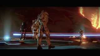Halo 5 Guardians Fight Scene Master Chief vs Spartan Locke