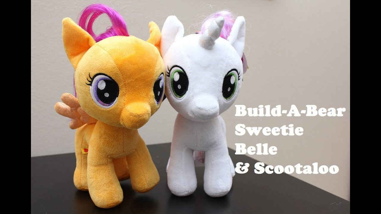 My Little Pony Build A Bear Sweetie Belle Scootaloo Review Youtube While the mane 6 and the rest of the cmc were worried, the kidnapper after a long day of flight practice with scootaloo, rainbow dash teaches the filly a little about preening. my little pony build a bear sweetie belle scootaloo review