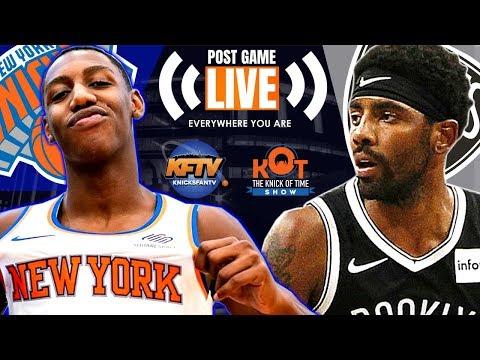 new-york-knicks-vs.-brooklyn-nets-post-game-show:-highlights,-analysis-&-caller-reactions-📞