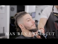 Man Bun Undercut/Mohawk Tutorial - Step by Step