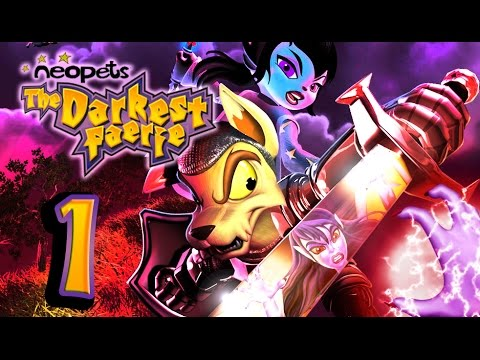 Neopets: The Darkest Faerie Walkthrough Part 1 (PS2) Starting the Adventure