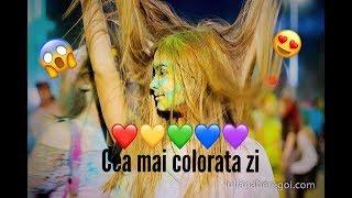Cea mai colorata zi!!!😍 Festivalul culorilor 2017😍
