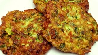 Receta de fritos zucchini bread (con queso Feta) - zucchini fritters