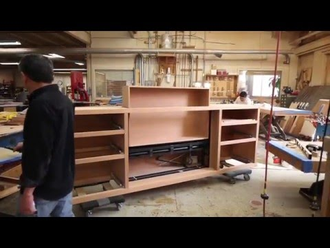 Custom TV Lift Furniture by Berkeley Mills