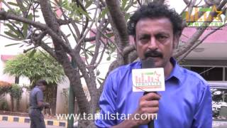 Ram Krish At Kidaa Poosari Magudi Movie Team Interview
