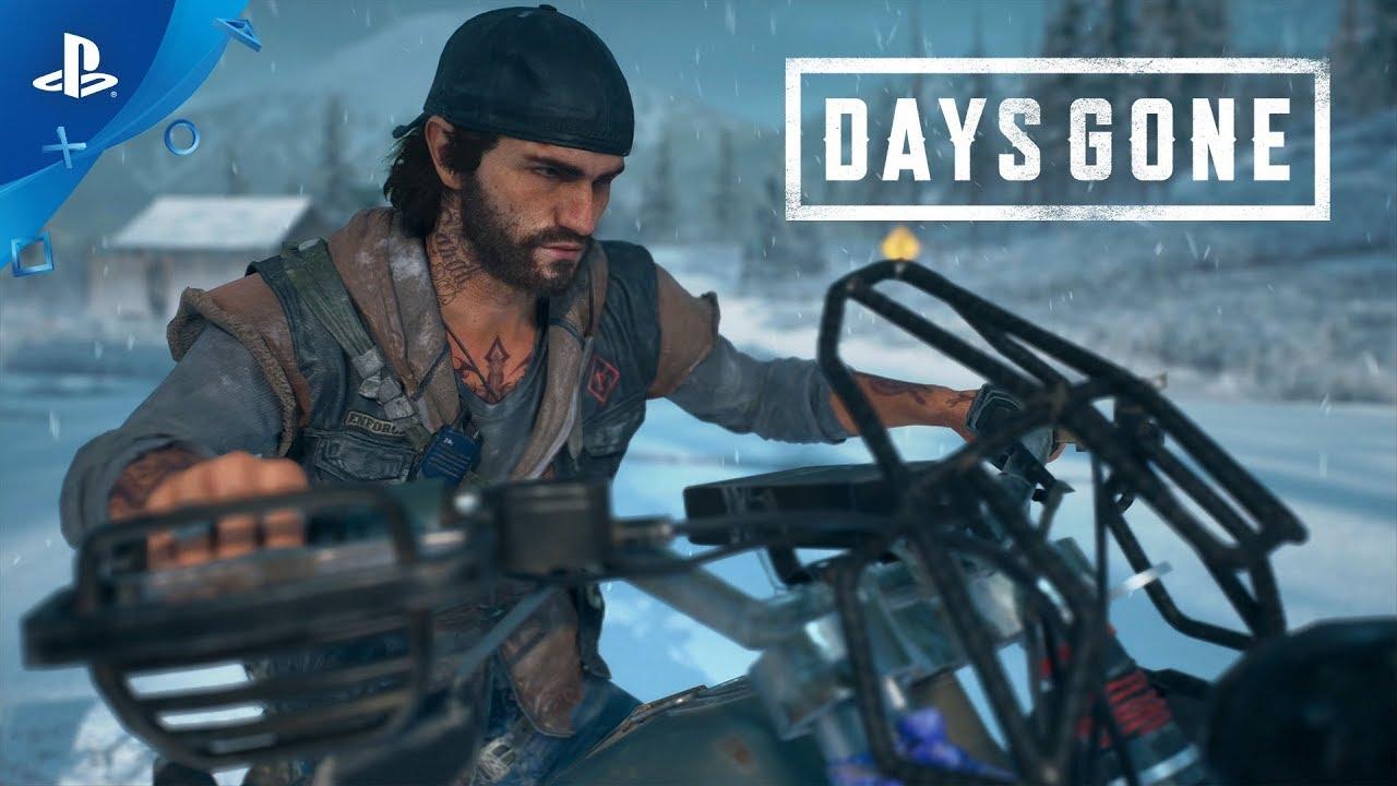 『Days Gone』の世界 ~ドリフターバイク~を再生する