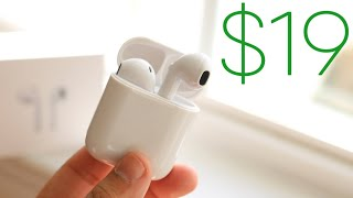 These $19 Fake AirPod's Are Almost Perfect! (Review)