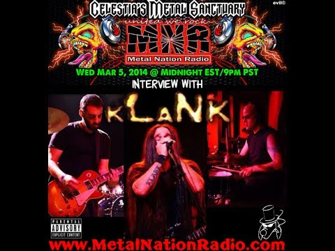 Celestia Interviews KLANK on Metal Nation Radio