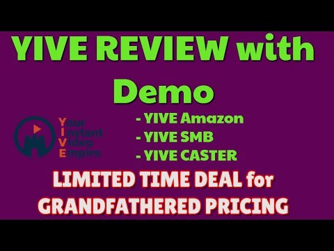 YIVE Review & Demo | LIMITED DEAL PRICING | YIVE Amazon | YIVE Caster | YIVE SMB thumbnail