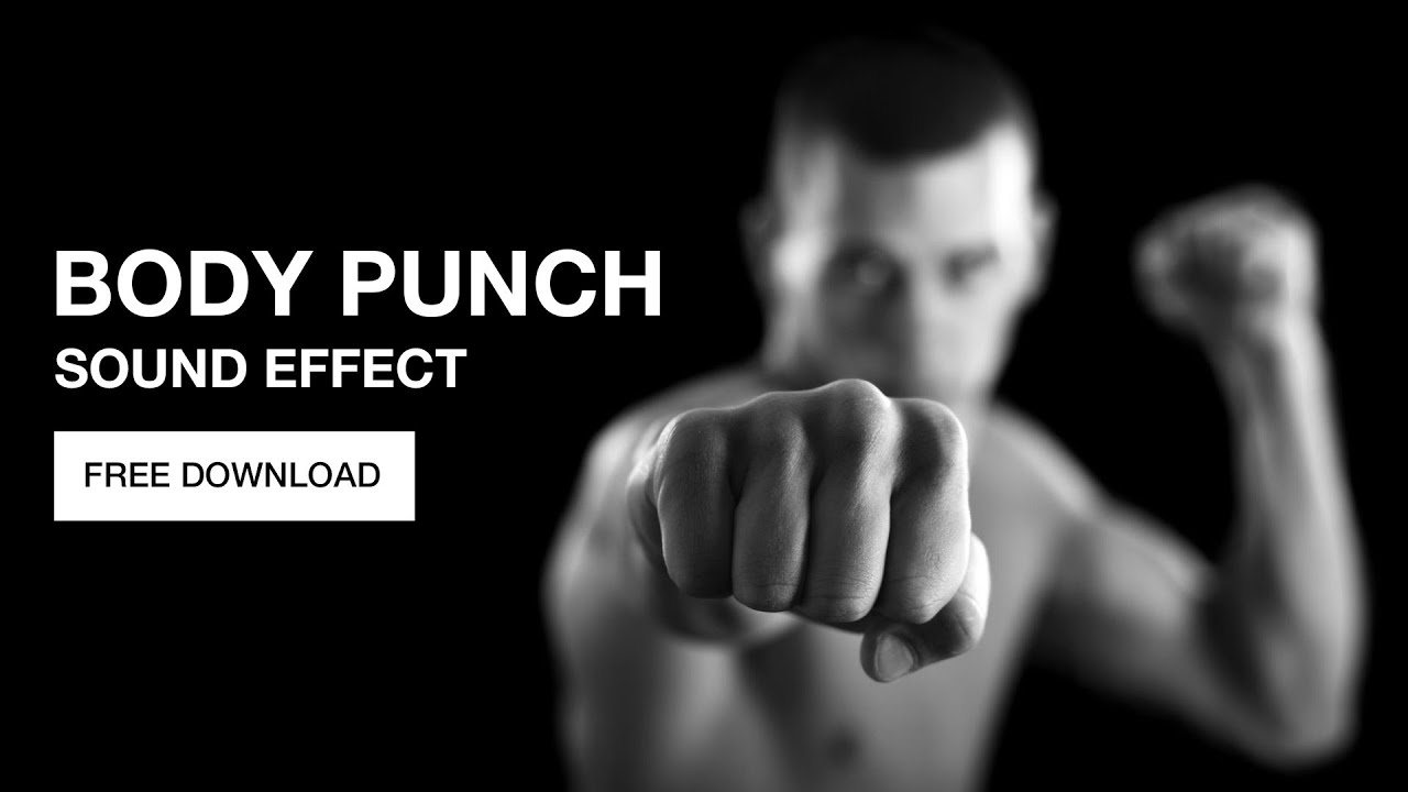 Punch sound effects ~ royalty free punch sounds | pond5.