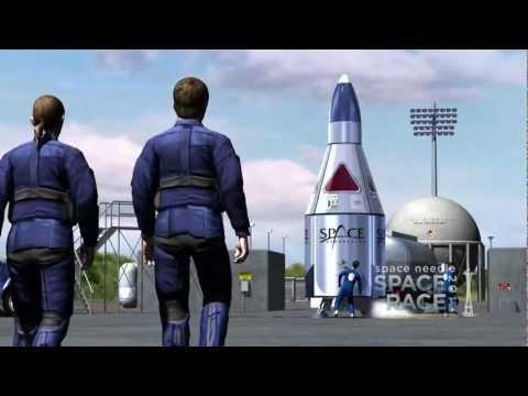 Space Needle Space Race 2012: Sub-orbital Space Flight