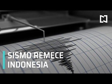 Sismo de 7.1 remece Indonesia, no reportan daños - Paralelo 23
