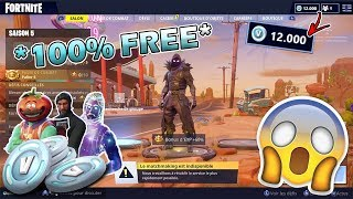 HOW TO GET *FREE* V-BUCKS IN FORTNITE ! (100% LEGIT / WORKING)