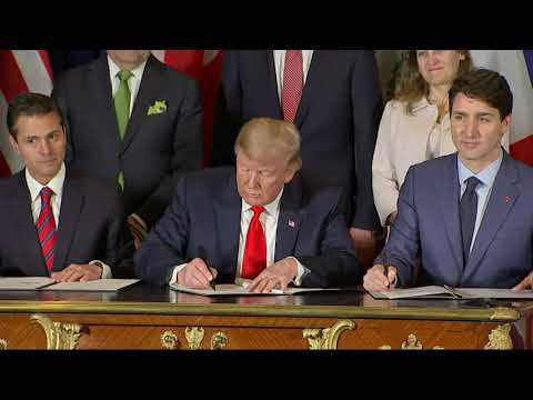 US, Canada, Mexico Sign Trade Agreement
