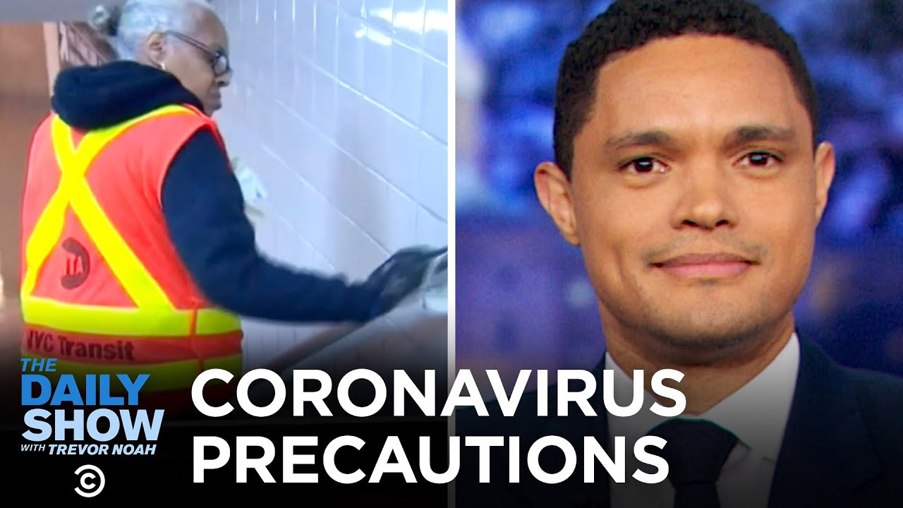 "Subway Coronavirus Precautions, Dinosaur DNA & Twitter's ""Fleets"" Feature | The Daily Show"