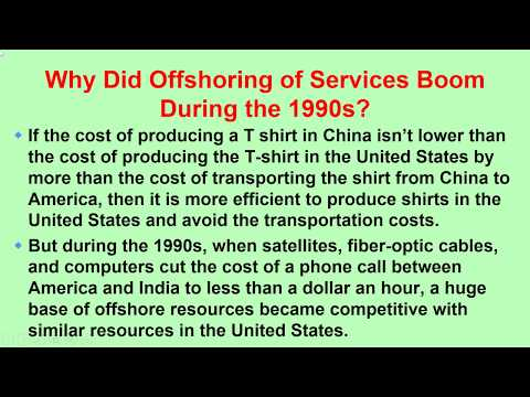 Casharka 13aad Offshore Outsourcing Chapter 7 Microeconomics