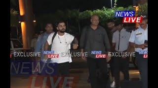 #INDvWI   Virat Kohli, Rohit, Shikhar, KL Rahul, Umesh Yadav, Rishabh Pant arrive in Guwahati