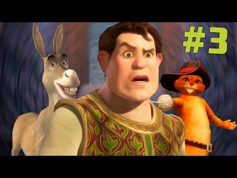 Shrek 2 The Game #3 ПРЕВРАЩЕНИЕ ОСЛА И ШРЕКА! - прохождение на русском