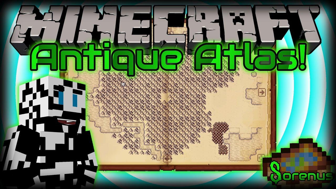 ANTIQUE ATLAS! | Mod for Minecraft 1.7.10 | Sorenus Mods ...
