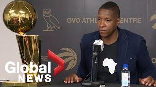 Toronto Raptors President Masai Ujiri season-ending press conference 🏀   FULL