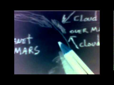 STRANGE CLOUDS SEEN ON MARS MARCH 2012