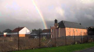 Scottish Rain And Rainbow Perth Perthshire Scotland