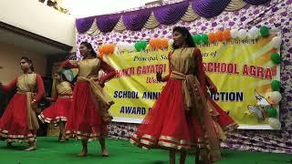 Vijay bhava Manikarnika dance performance by students of YGPS