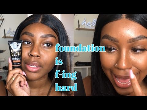 FOUNDATION IS HARD. | Episode 1: Nyx born to glow thumbnail