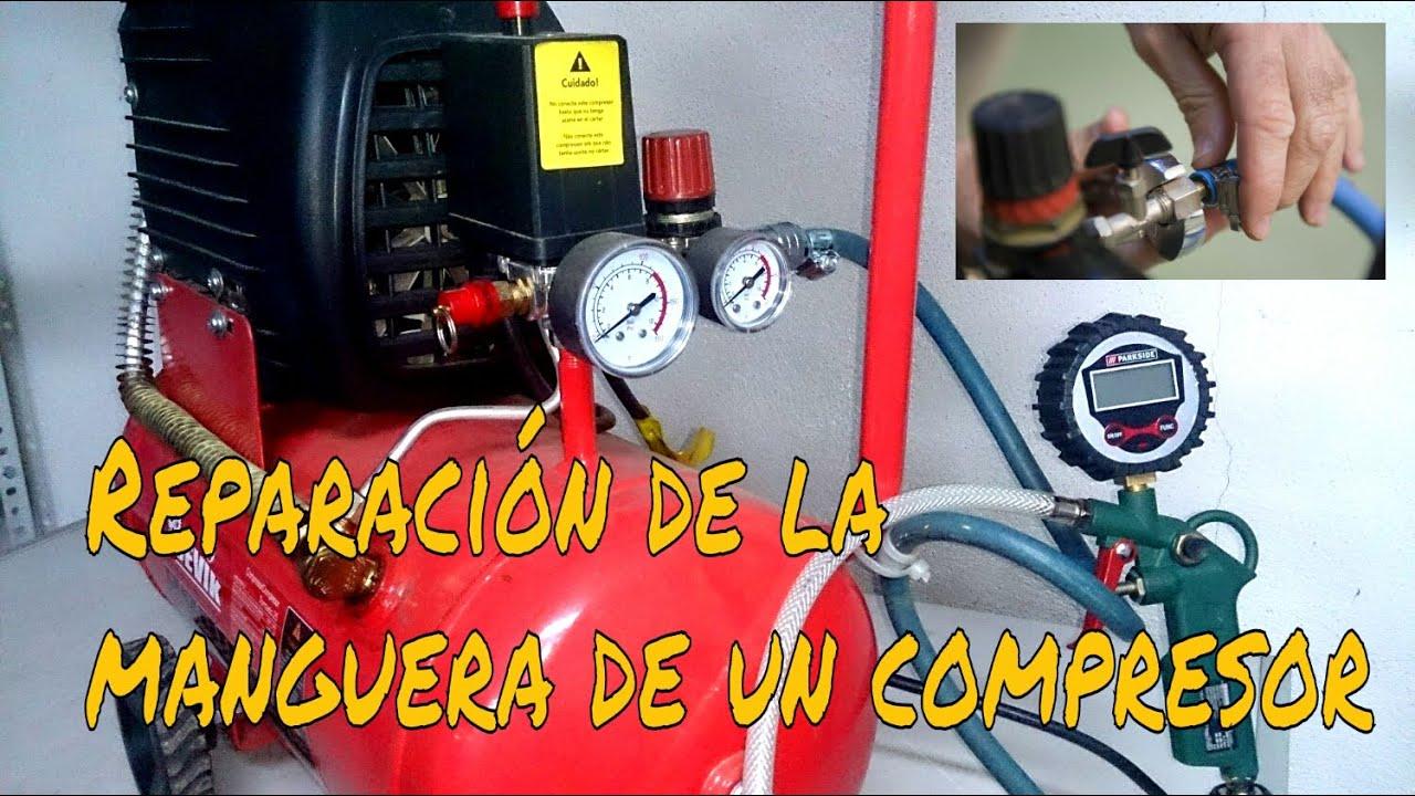 C mo reparar la manguera de un compresor paso a paso - Manguera para compresor de aire ...